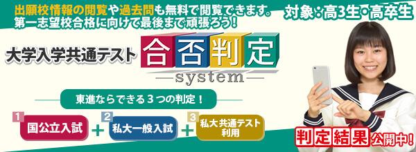 合否判定システム